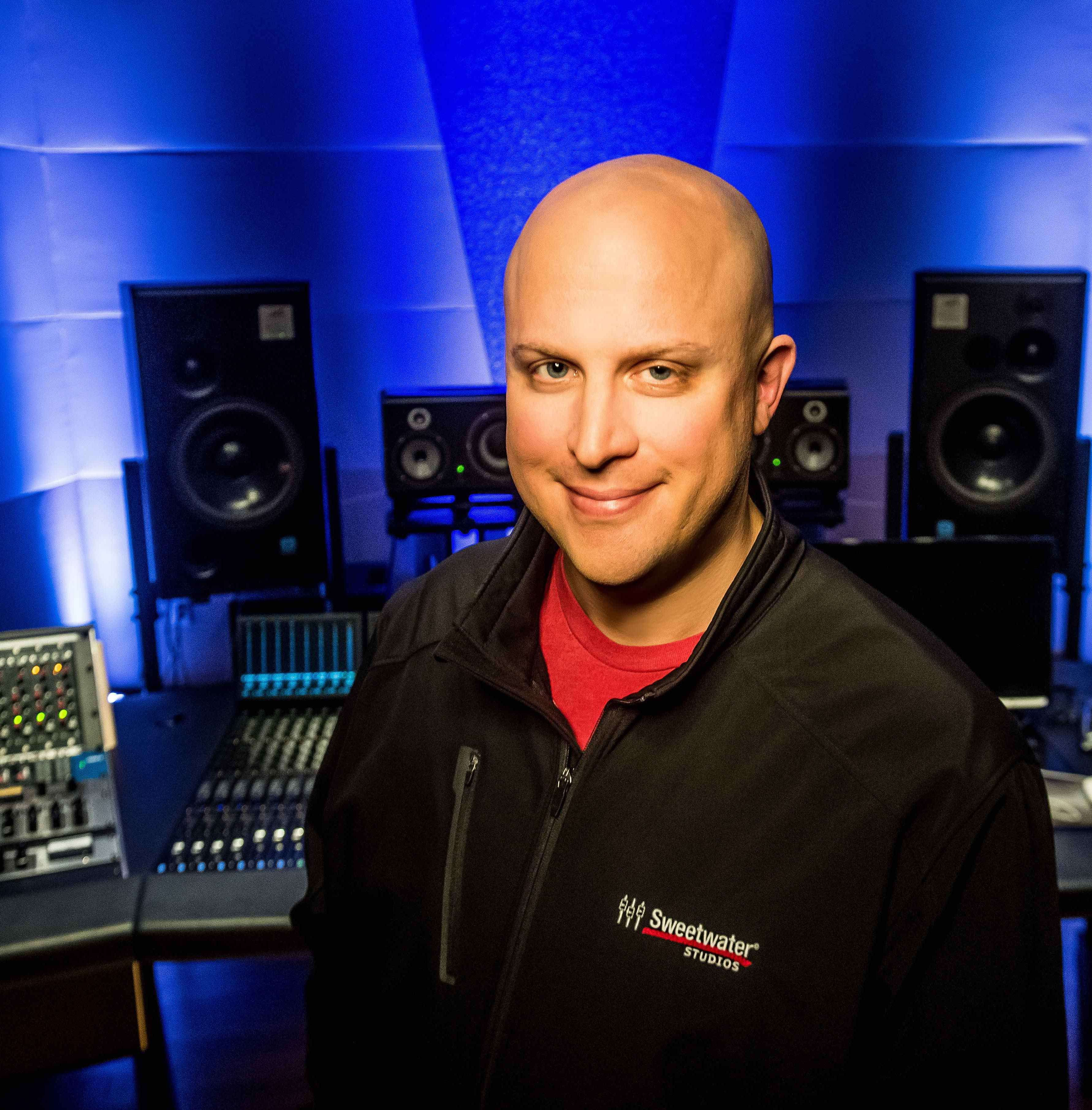Sweetwater Studios Senior Producer/Engineer and VP of Music Production, Mark Hornsby