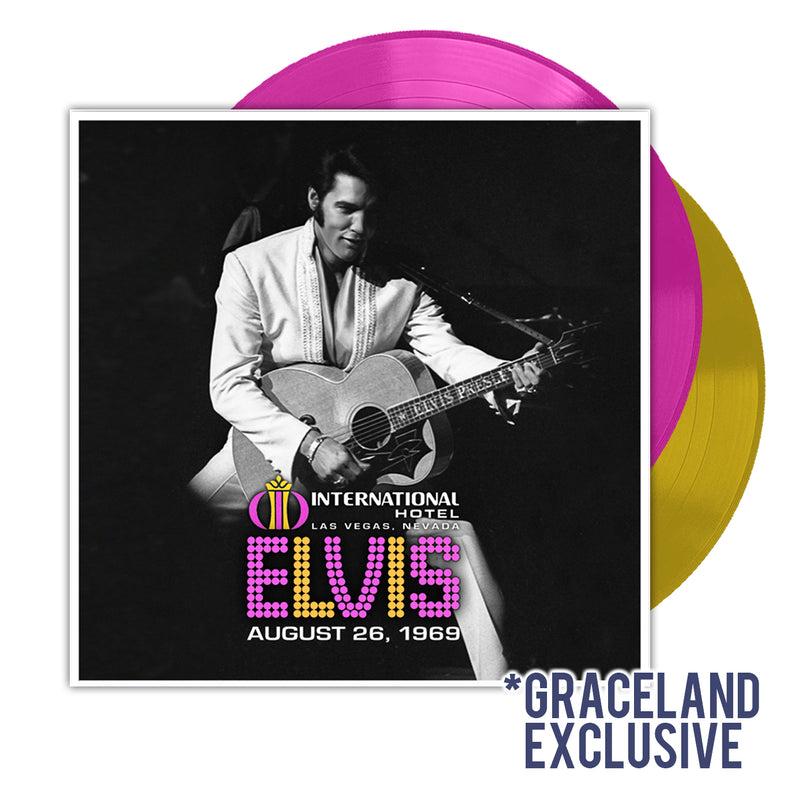 Elvis Presley: Live At The International Hotel, Las Vegas NV-August 26, 1969 Vinyl LP Set (Graceland Exclusive)