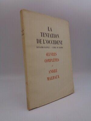 Andre Malraux: La Tentación De Occidental Royaume-Farfelu - Luna En Papel |  eBay