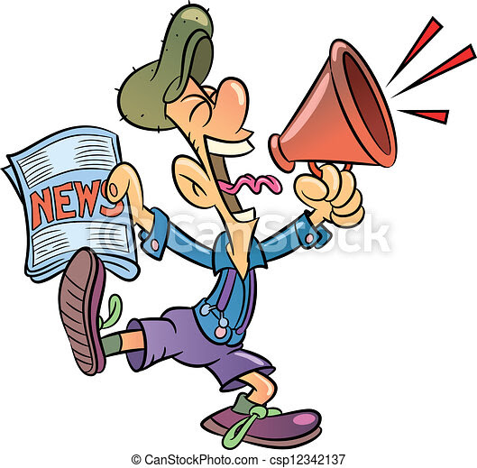 Image result for CARTOONS PAPER BOY SELLING NEWSPAPERS
