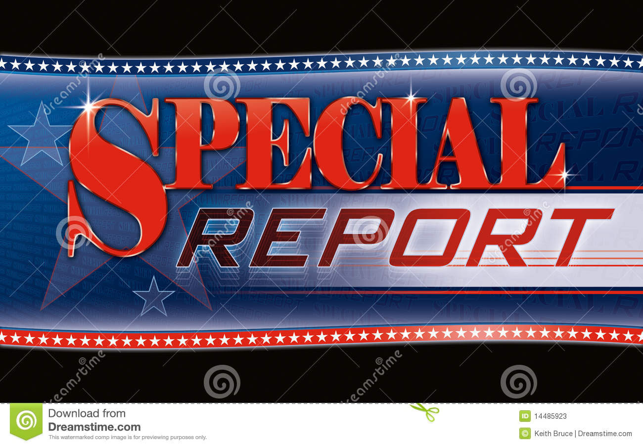 Special Report Graphic Royalty-Free Stock Photo | CartoonDealer.com #14485923