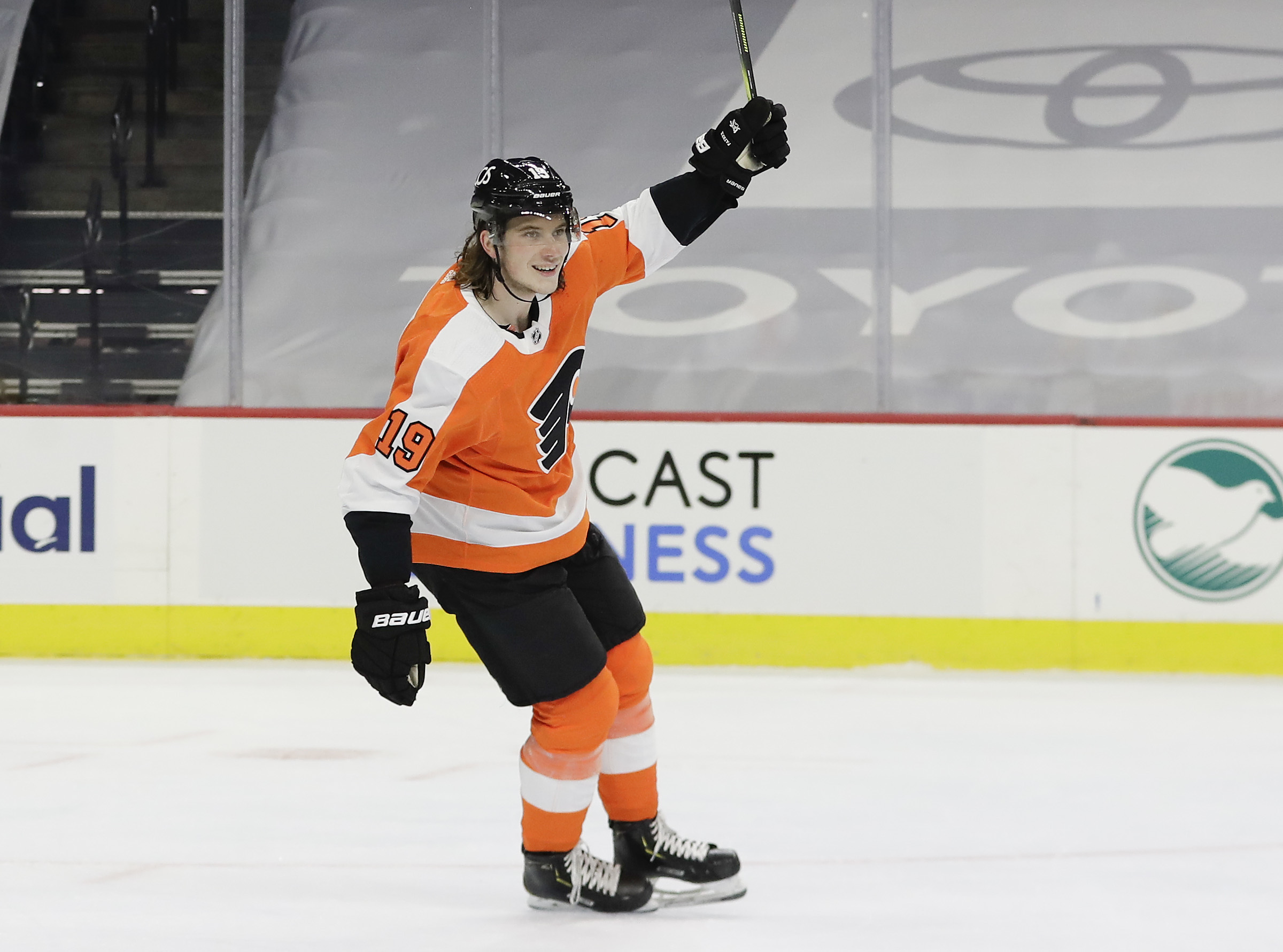 Nolan Patrick played more than 14 minutes in his first game in almost two years. He had a power-play goal, and two blocked shots, and was a -2.