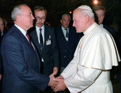 Inside the John Paul II-Gorbachev meeting | CNS Blog