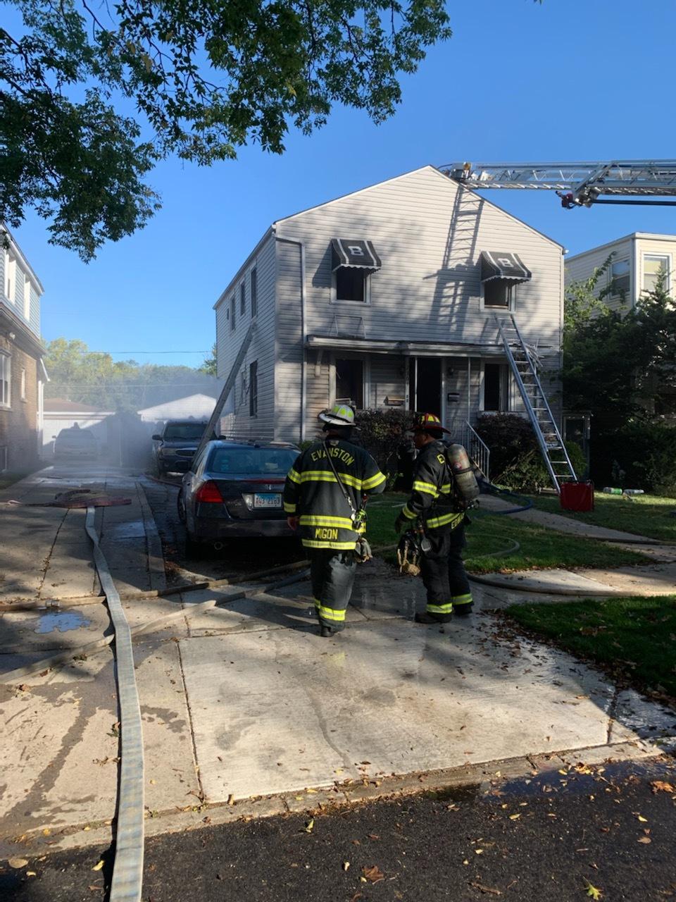2301 Foster St. House Fire