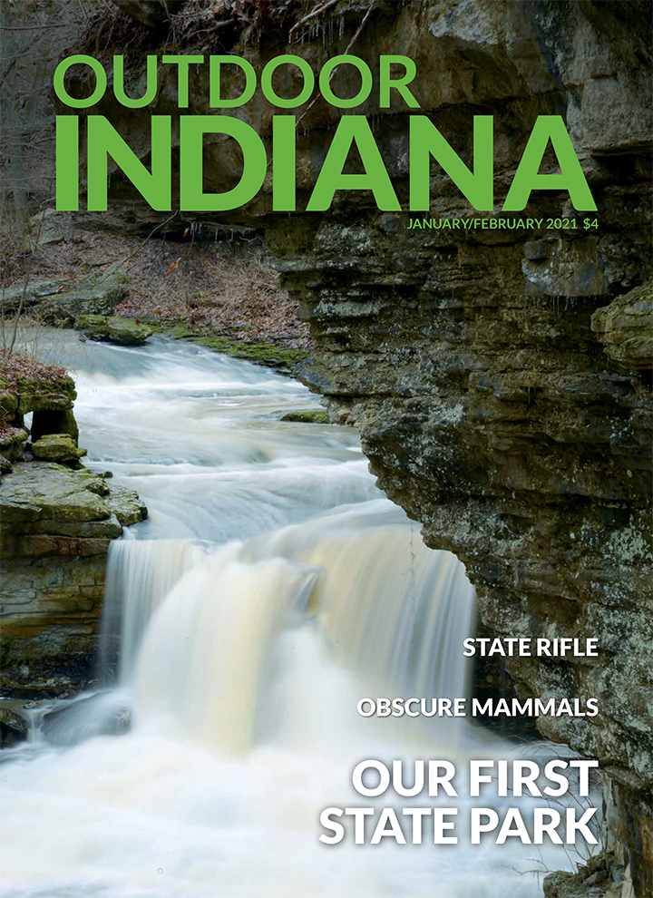 Outdoor Indiana, State Rifle, Obscure mammals, Our first state park