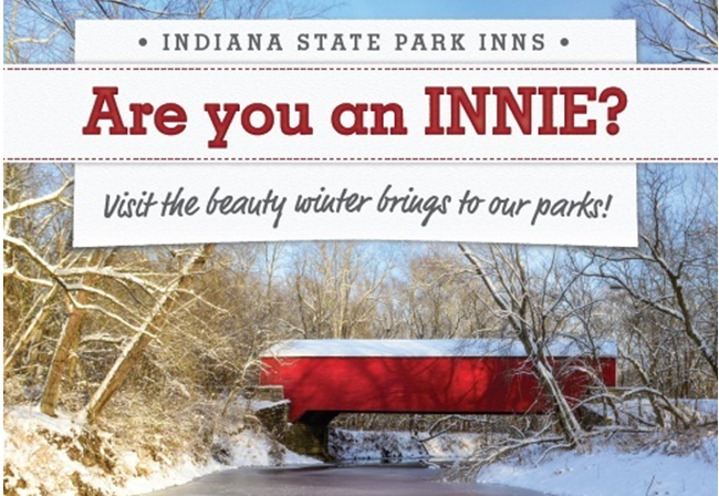 Are you an Innie? Visit the beauty winter brings to our parks! Indiana State Park Inns