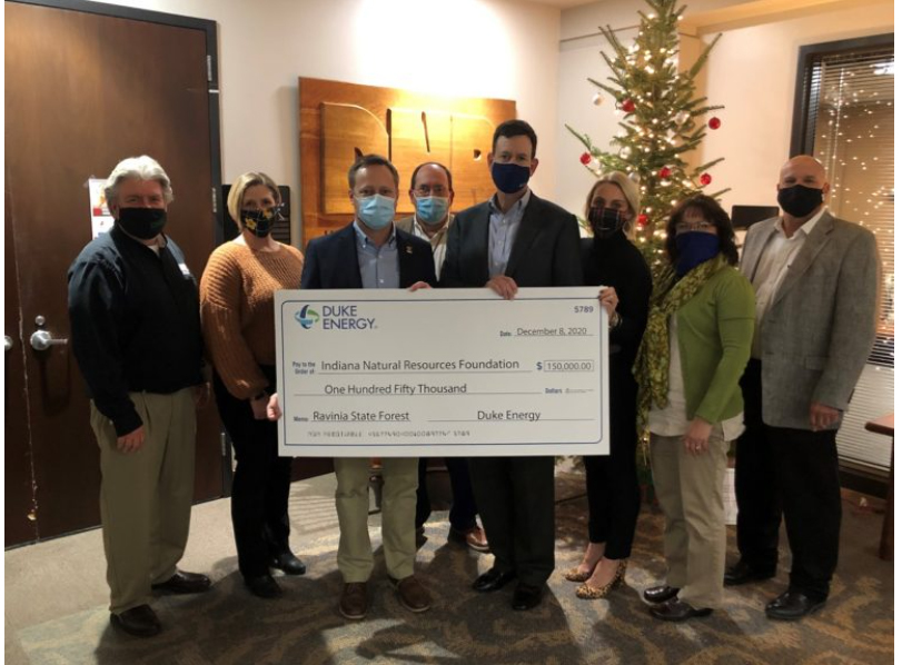 Duke energy check presentation to the INRF