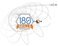 180 Skills logo