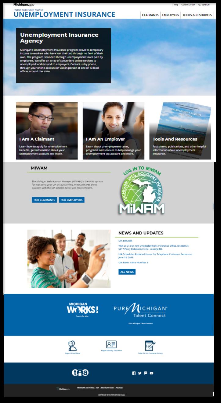UI website