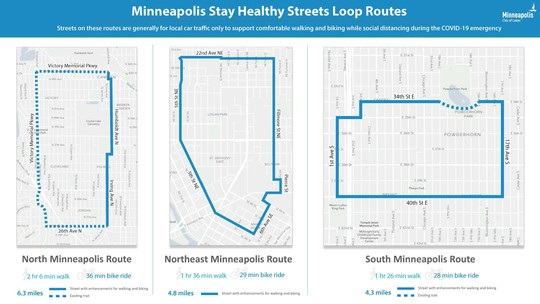 stay healthy streets routes