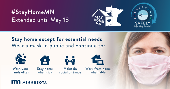 Mn stay at home extension