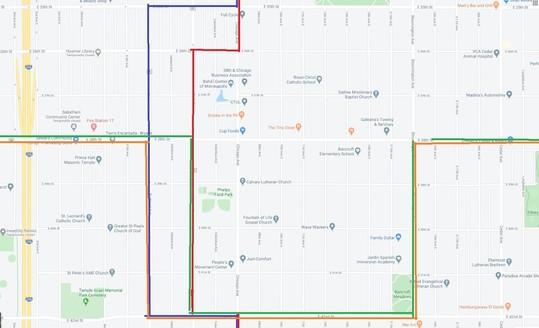 detour map