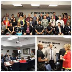 TWC Chair Ruth R. Hughs, Texas Transition Alliance, Meet with Military Stakeholders at Dyess AFB to Support Transitioning Service Members