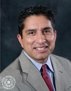 TWC Chairman Andres Alcantar