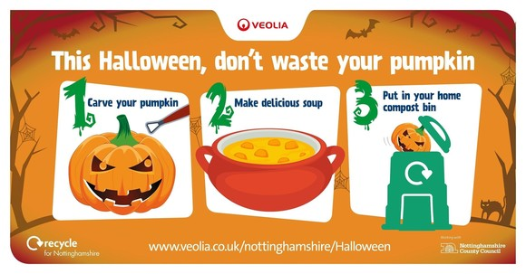 Don't waste your pumpkin