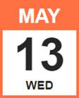 Wednesday, May 13, 2020