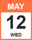 Wednesday, May 12, 2021