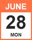 Monday, June 28, 2021