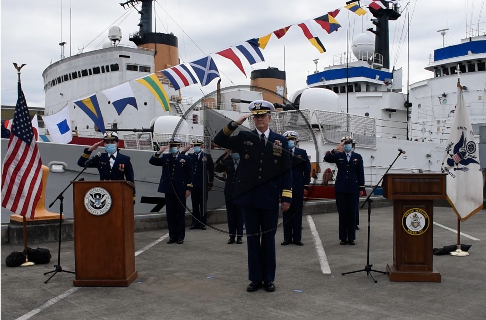 Coast Guard high endurance cutter decommissioned after 52 years of distinguished service