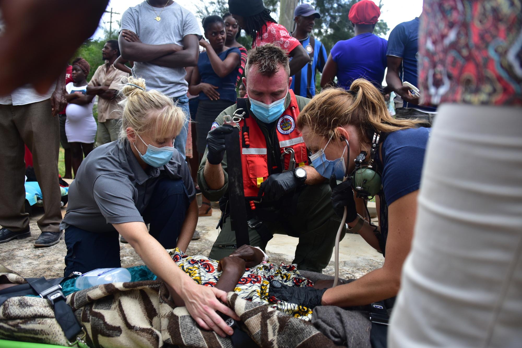 Coast Guard responds to Haiti with humanitarian aid