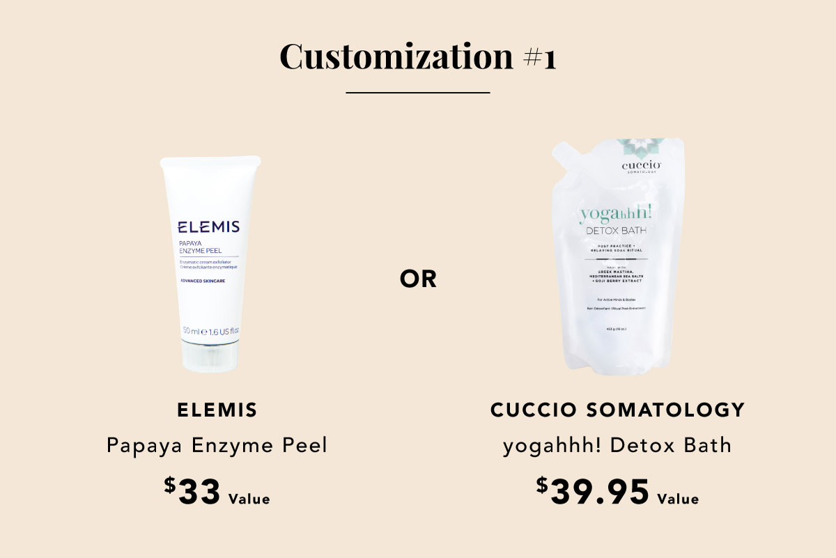 Enzyme Peel or Detox Bath