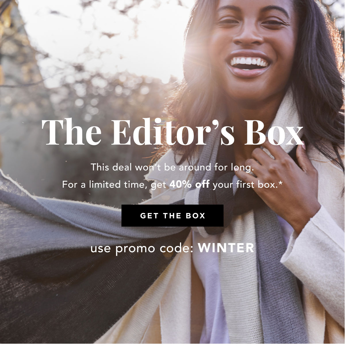 The Editor's Box | Get The Box