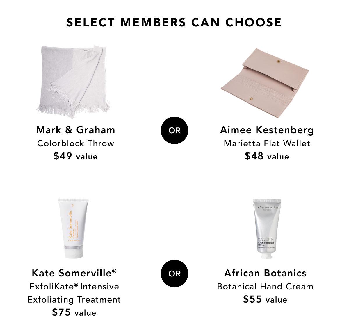 Select Members Can Choose