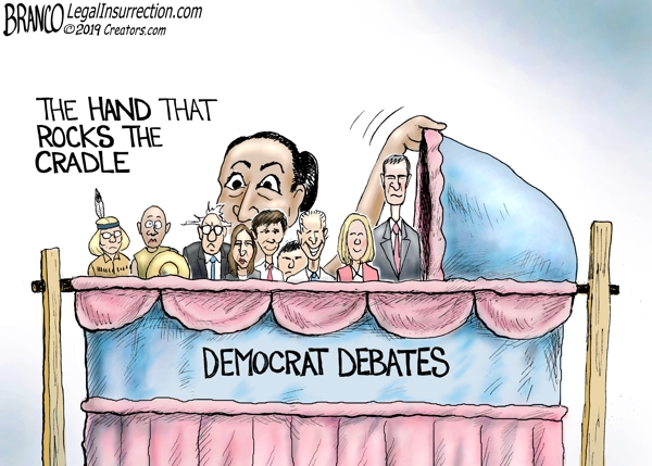 Cartoon - Democratic Debate