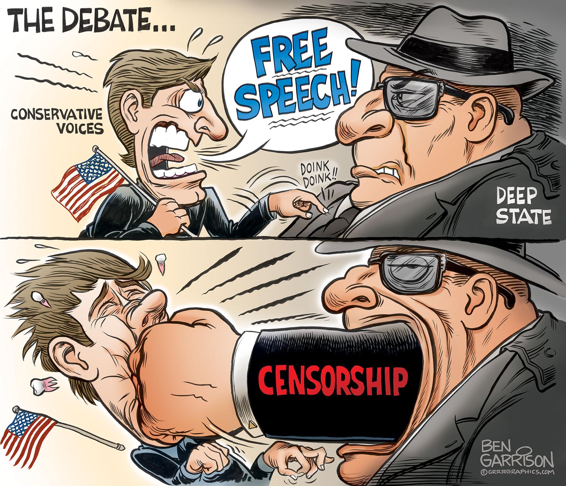 Cartoon - Censorship