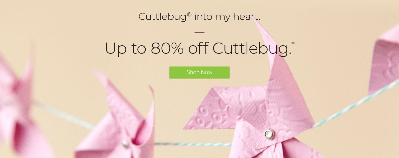 Cricut: Access Exclusive Cuttlebug Sale! - Lovin' the Prize of Life