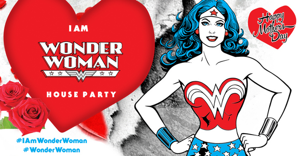 I Am Wonder Woman House Party House Party