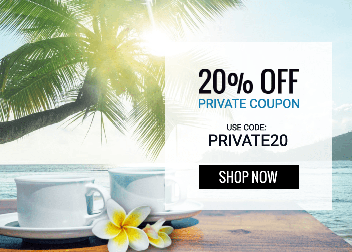 20% OFF Private Coupon