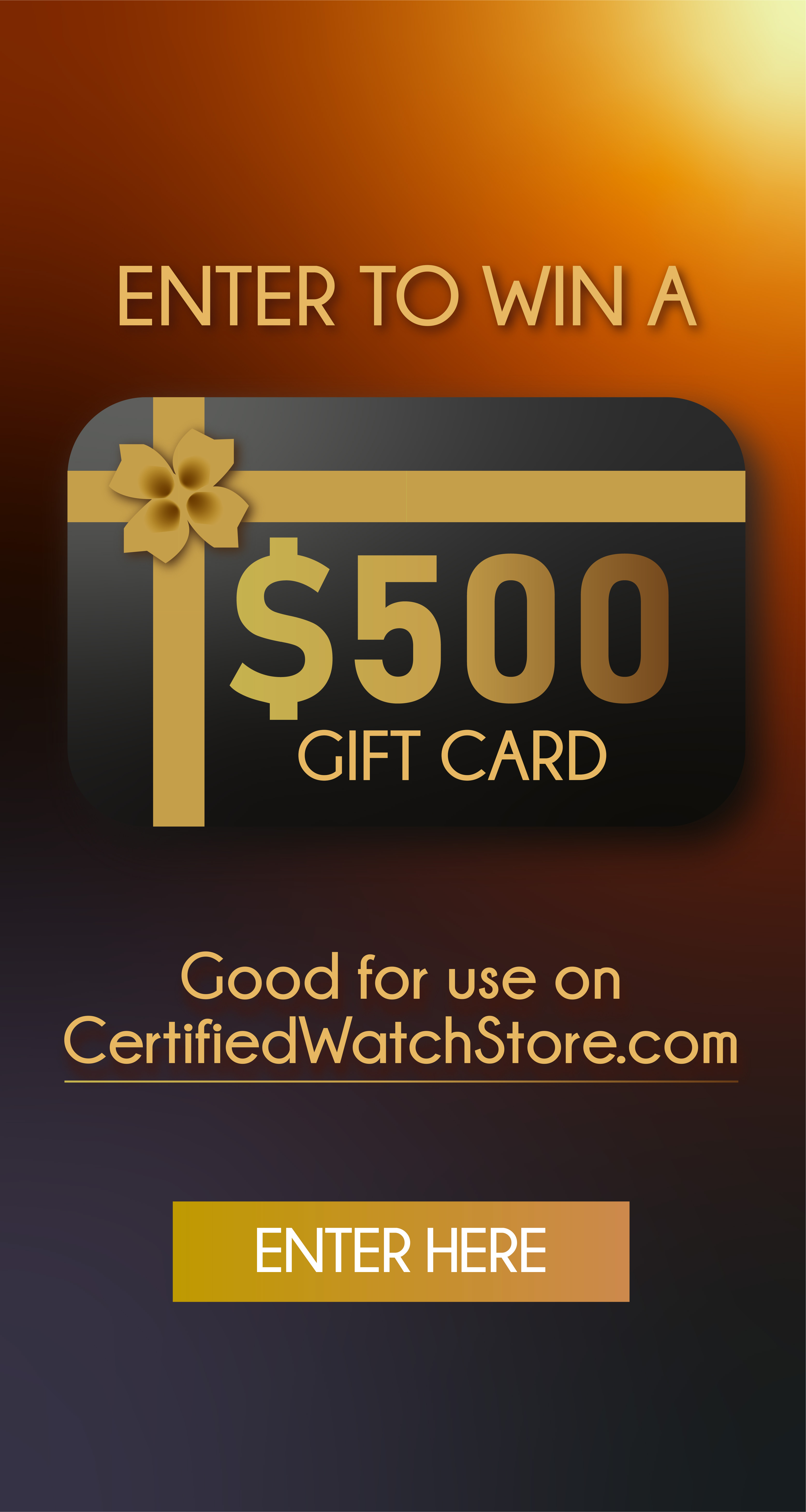 Enter our November Prize drawing for a $500 Giftcard