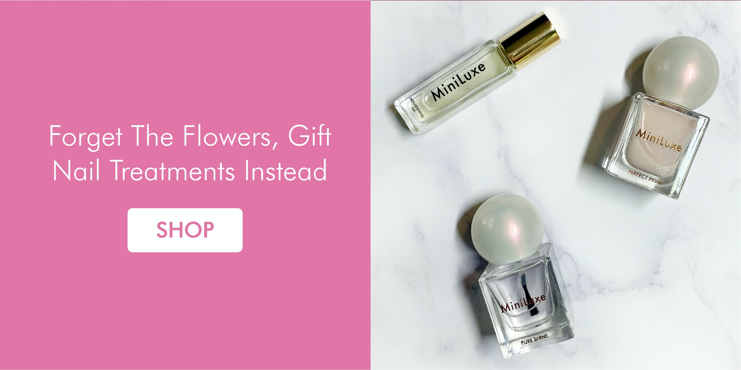 Forget The Flowers, Gift Nail Treatments Instead