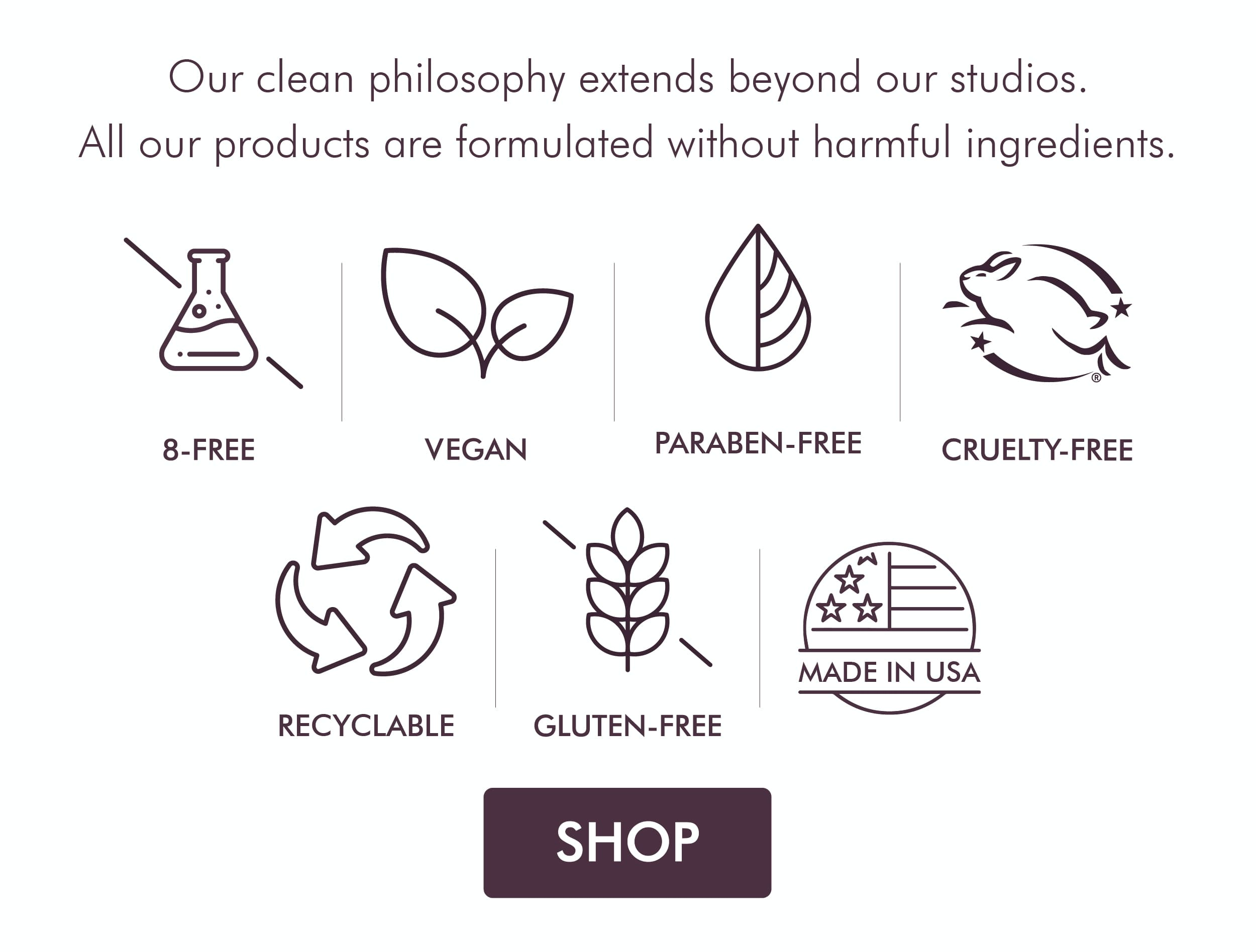 All Our Products Are Formulated Without Harmful Ingredients