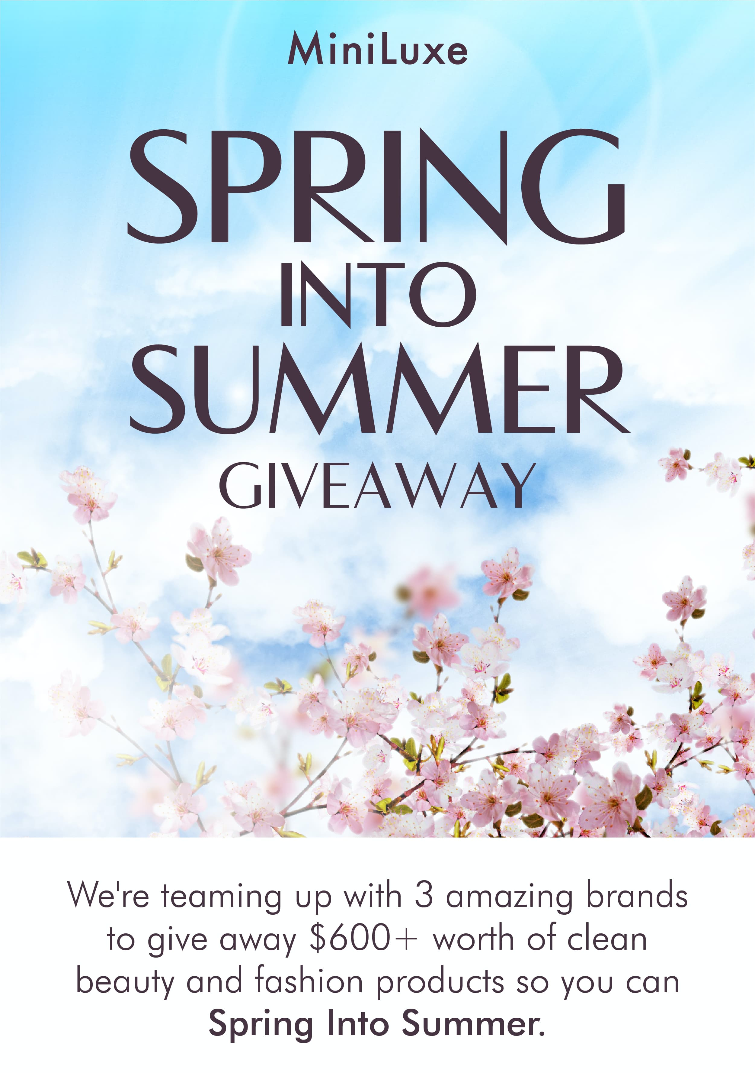 We're Teaming Up With 3 Amazing Brands To Giveaway $600 Worth Of Clean Beauty And Fashion Products