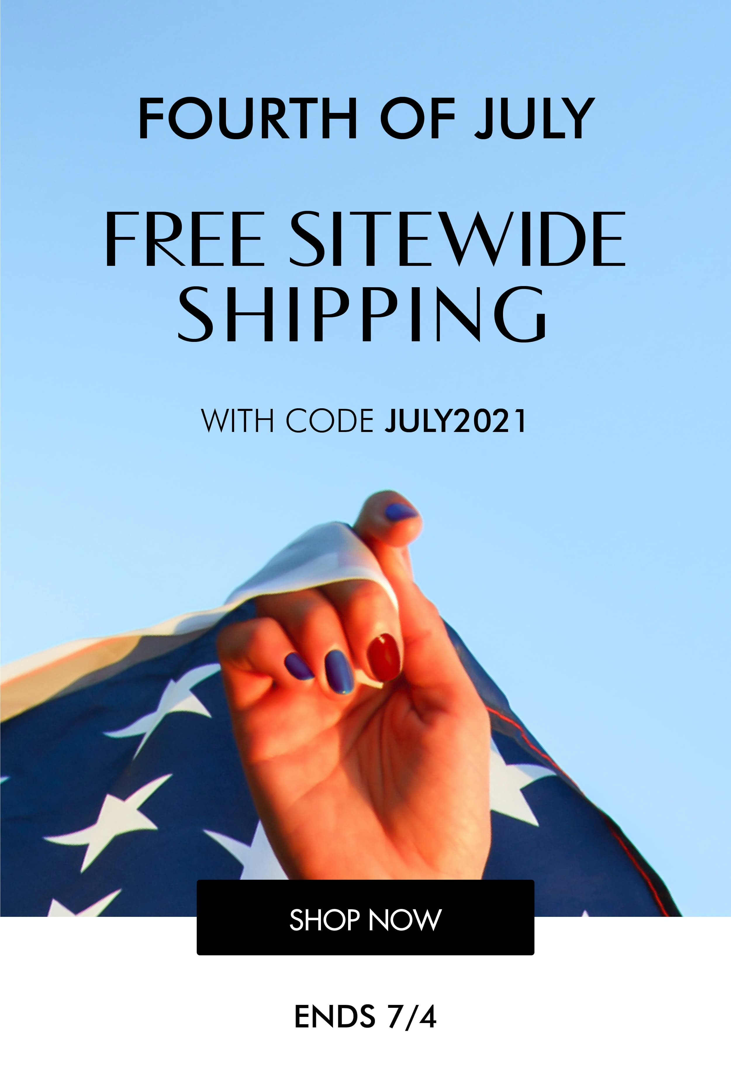 Free Shipping Sitewide