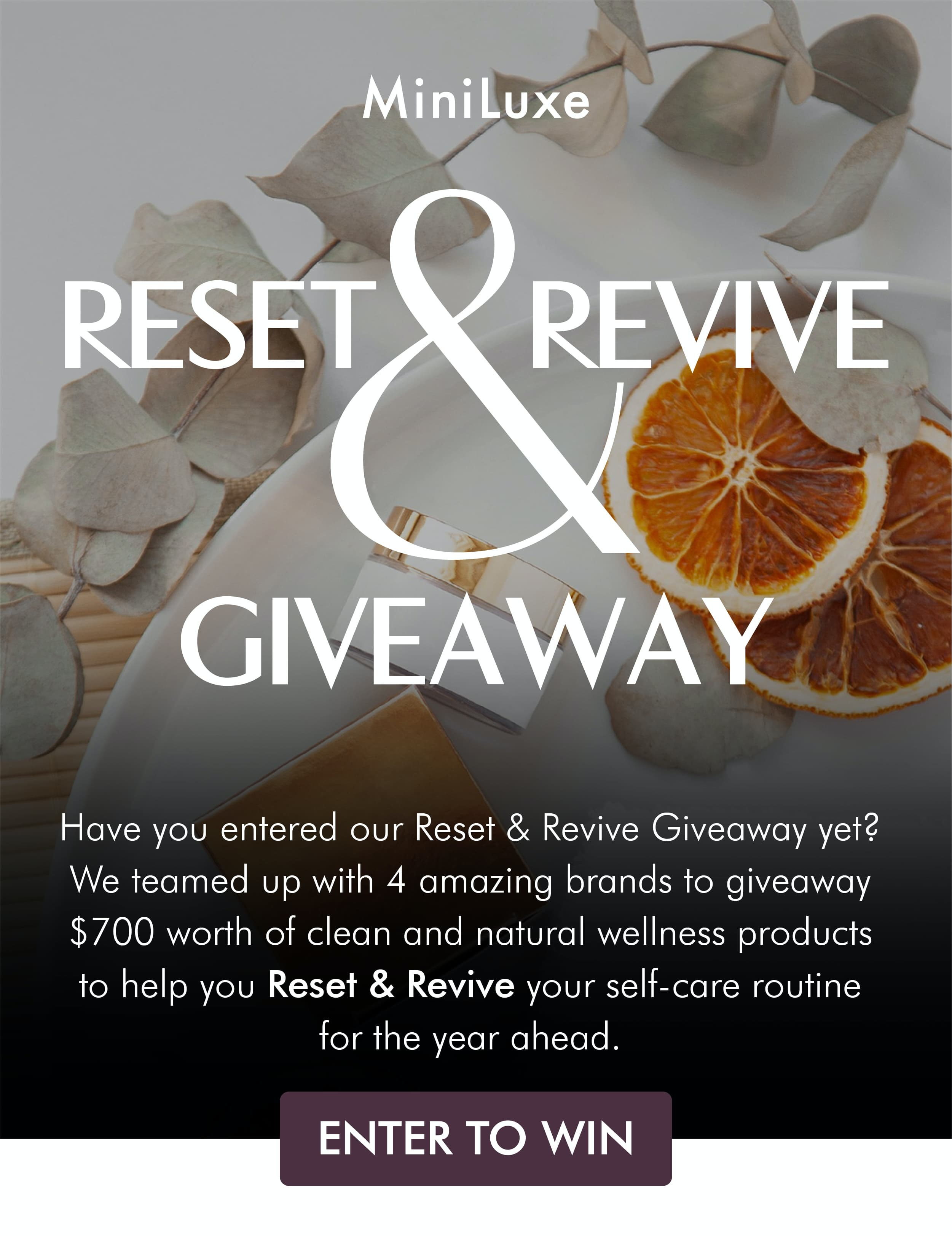 We're Teaming Up With 4 Amazing Brands To Giveaway $700 Worth Of Clean And Natural Wellness Products