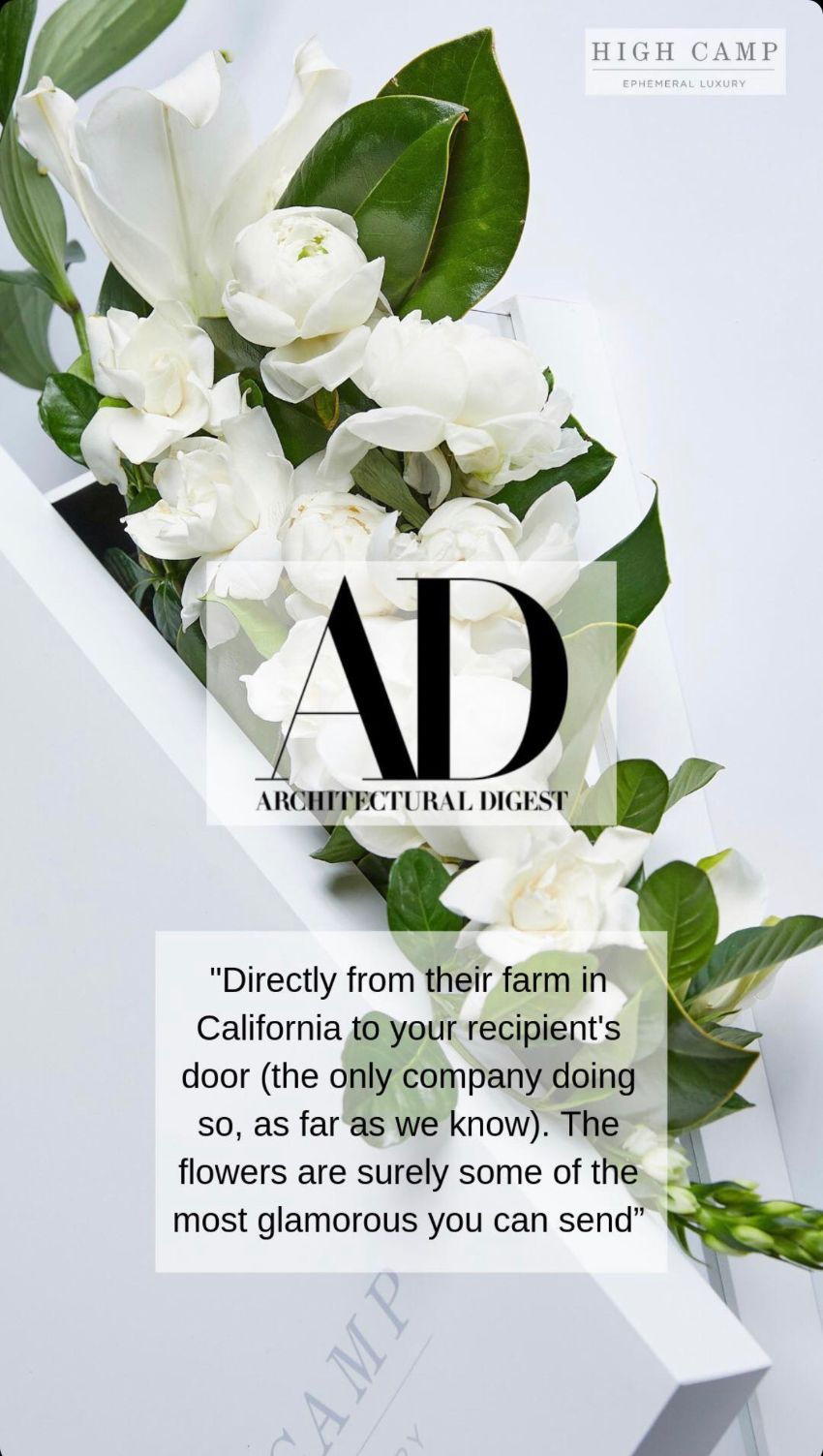AD quote on High Camp Gardenias