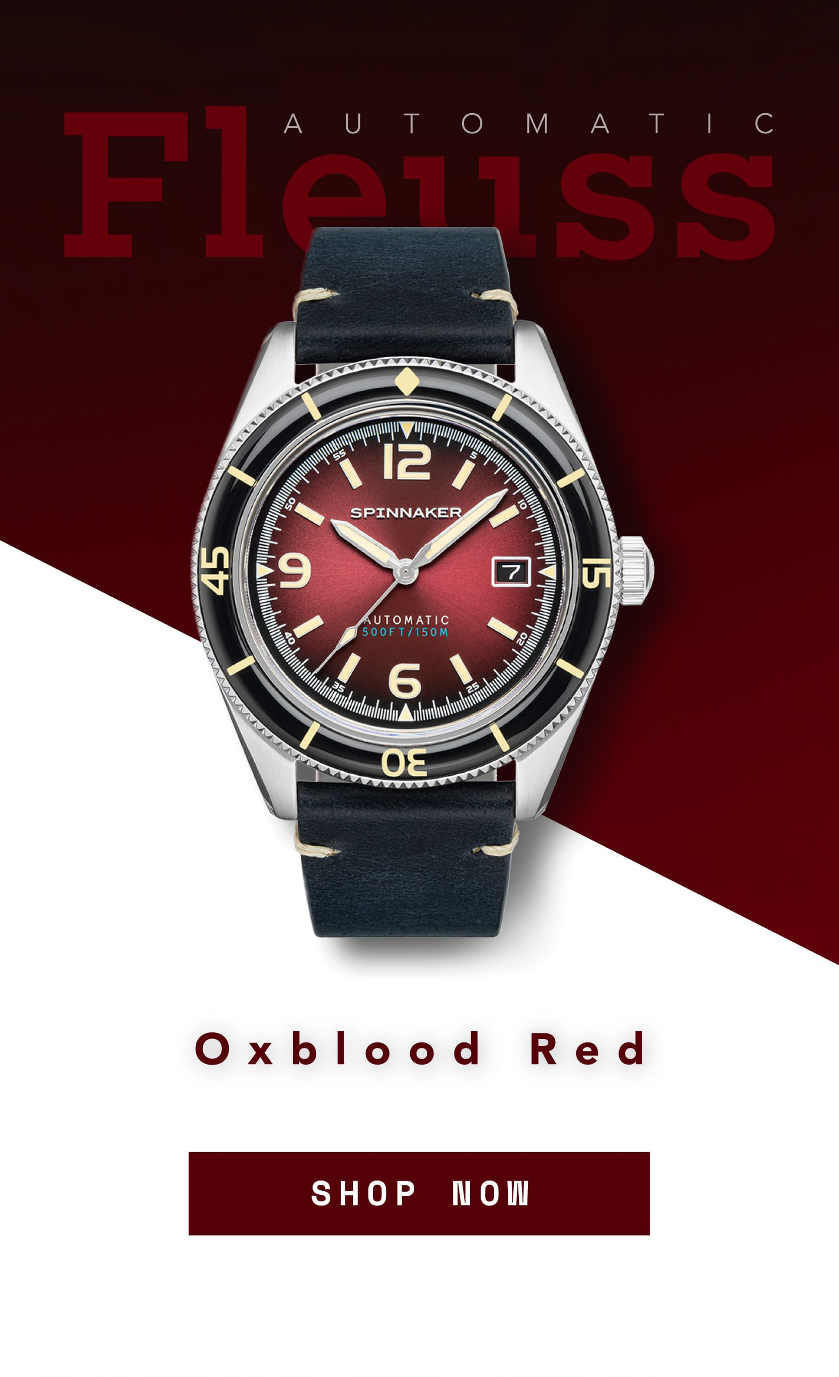 The Fleuss Oxblood Red is here...