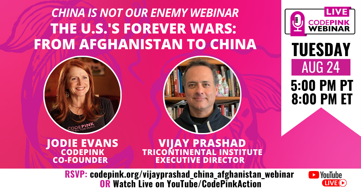 The United States' Forever Wars: From Afghanistan to China @ Online