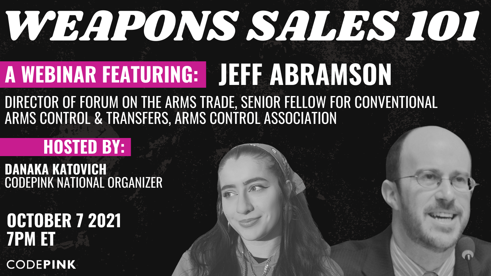 Weapon Sales 101 @ Online