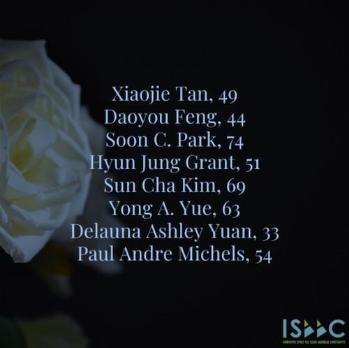 Atlanta shooting victims by name
