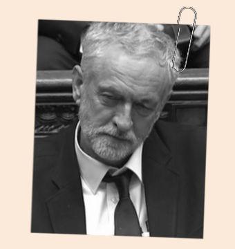 Student Jeremy Corbyn