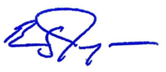 Barnaby Joyce Signature