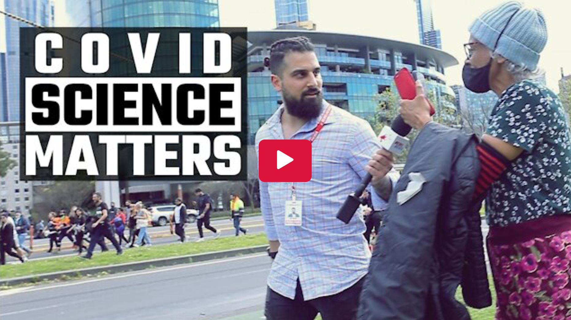 WATCH: Black Lives Matter activist ABUSES construction workers protesting in Melbourne