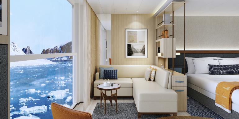 viking expedition cruises junior suite