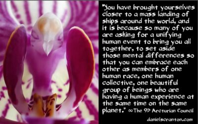 full e.t. contact, a mass sighting of ufos & unity - the 9th dimensional arcturian council - channeled by daniel scranton, channeler of archangel michael