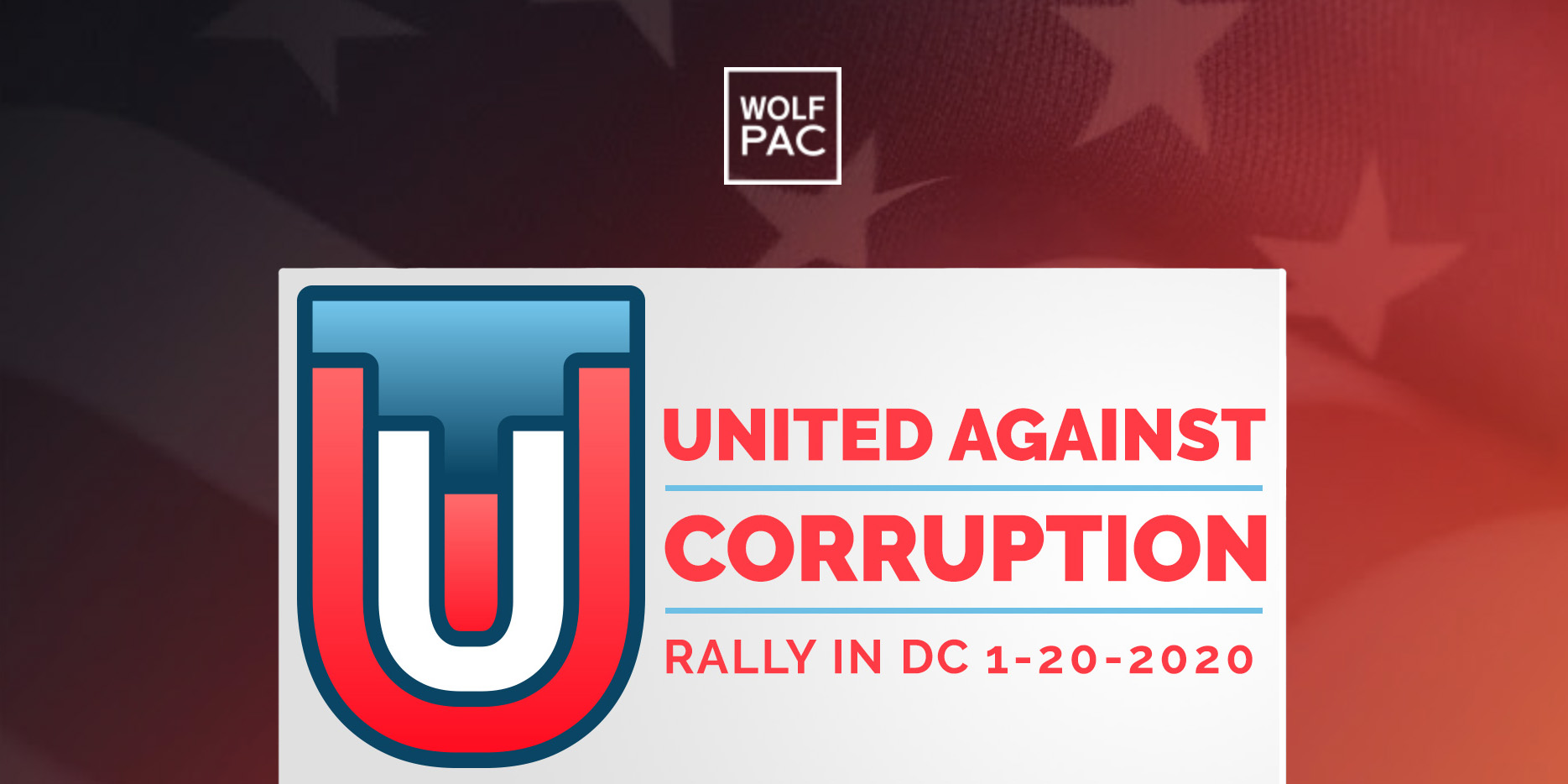 United Against Corruption Rally! @ U.S. Capitol Steps (Section 1)