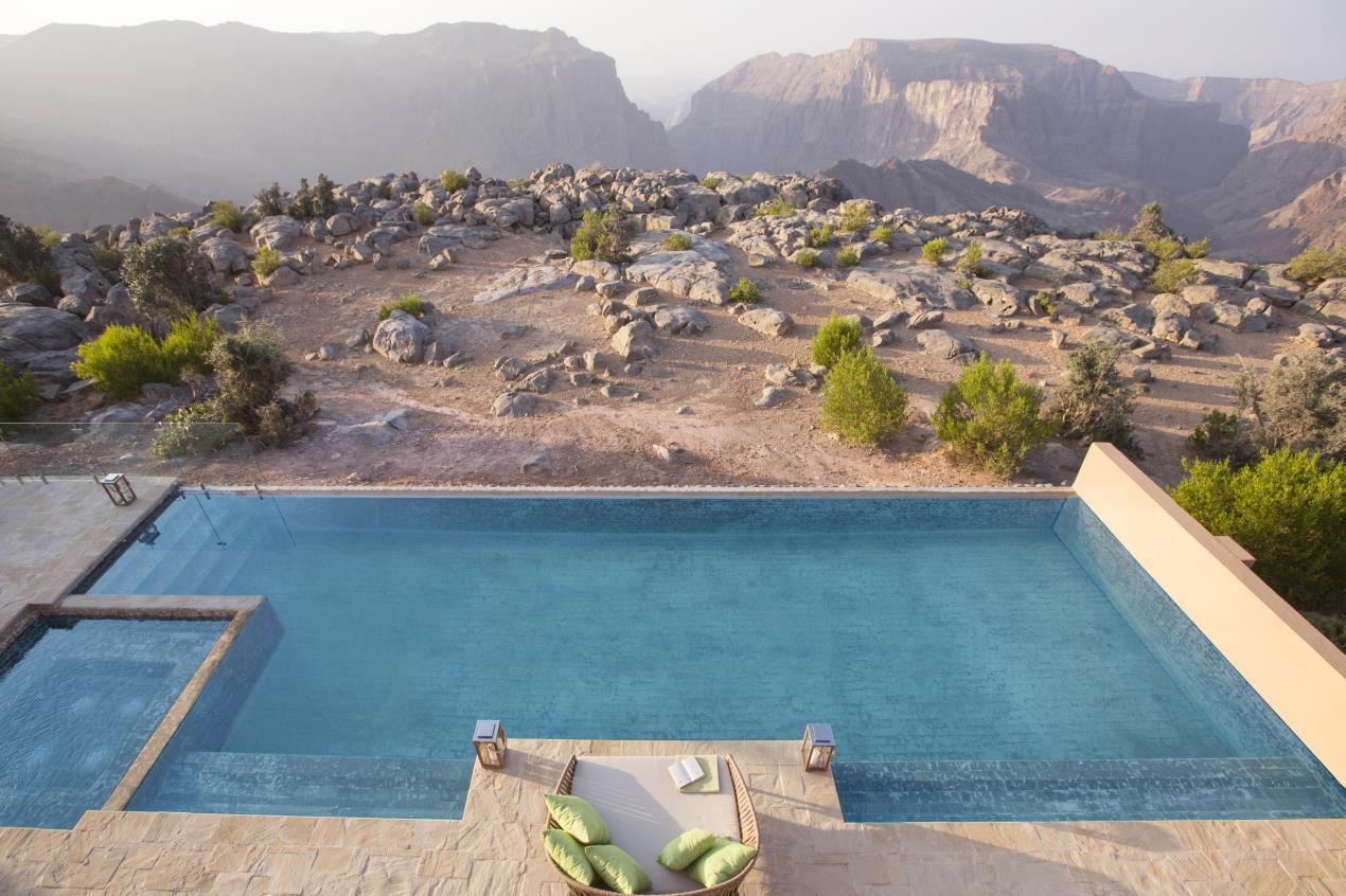 Anantara Al Jabal Al Akhdar Resort - Royal Mountain Villa Pool 02